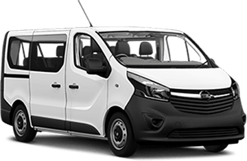 Opel Vivaro 9 seaters